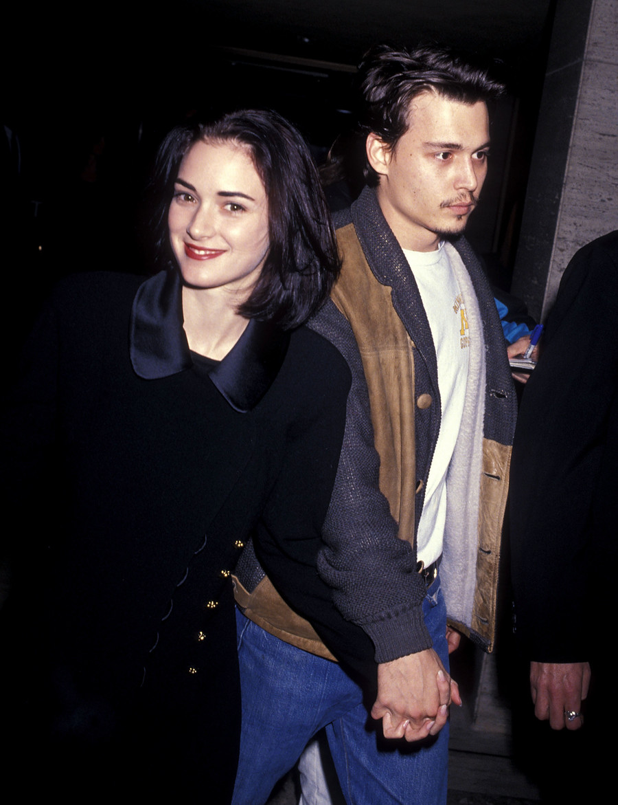 Winona Ryder i Johnny Depp, 1991 / Ron Galella, Ltd. / GettyImages