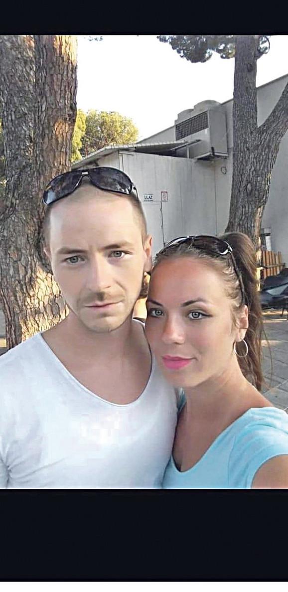 Biljana sa bratom koji je nedavno preminuo