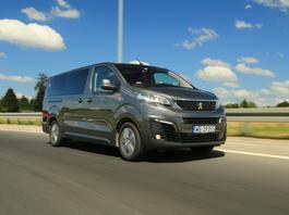 Peugeot Traveller - dobry rozmiar   TEST