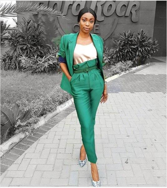 Bolanle Olukanni is one of Nigeria's most dressed celebrities