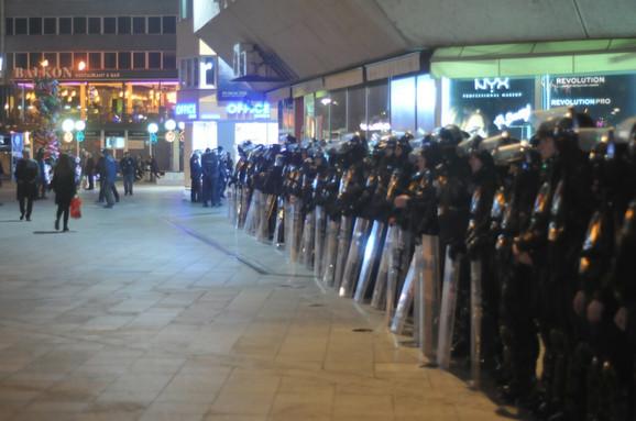 Jake policijske snage