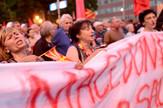 Skoplje, protest, EPA -  NAKE BATEV