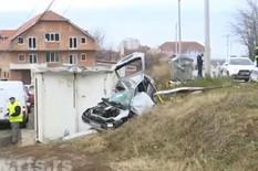 Stravična nesreća u Železniku, mladić poginuo