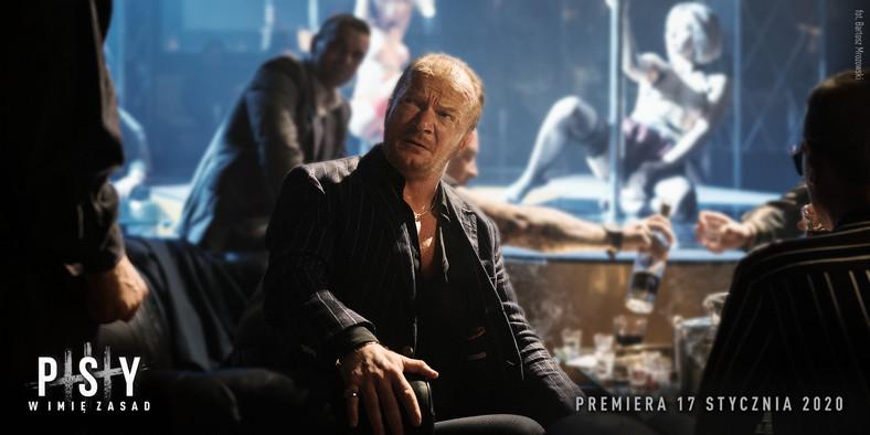 "Eryk Lubos w filmie ""Psy""; fot. Bartos Mrozowski"