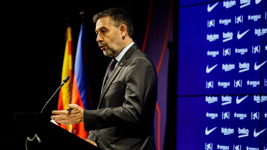 Josep Maria Bartomeu, prezes FC Barcelona