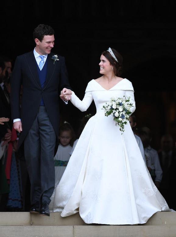 Novo kraljevsko venčanje: Udala se princeza Evgenija