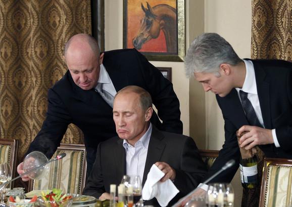 Prigožin je jedan od najbližih saradnika predsednika Rusije Vladimira Putina