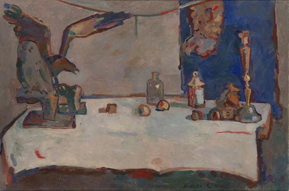 Marko Čelebonović, Velika mrtva priroda, 1959, 130x196cm