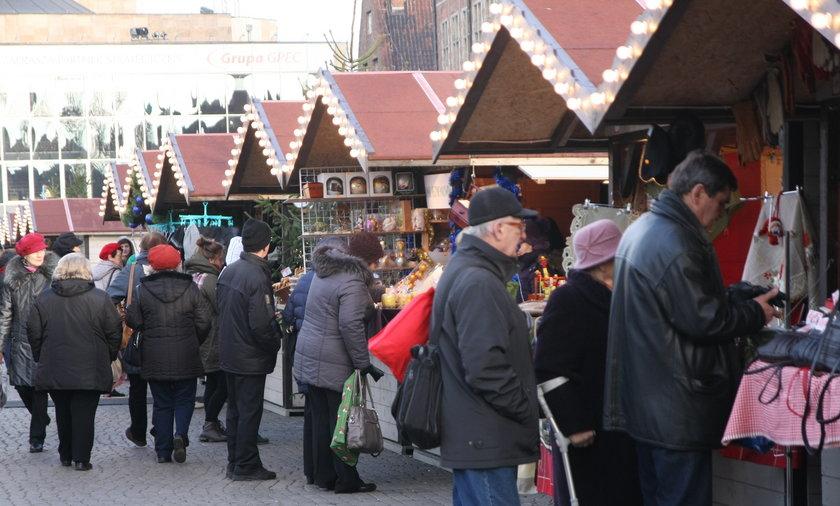 Jarmark świąteczny w Gdańsku