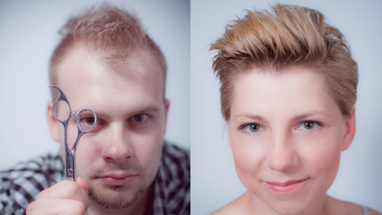 Mariola Witek i Patryk Belanken z salonu Degażeria