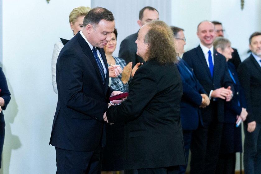 Muzyk dostał medal od prezydenta. Oddał go po fali krytyki