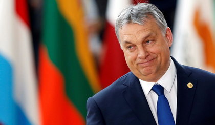 Jak Orban Sorosa o pieniądze prosił