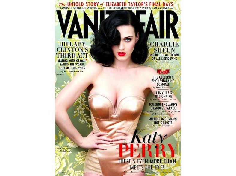 """Katy Perry na okładce """"Vanity Fair"""". Źródło: Vanity Fair"""