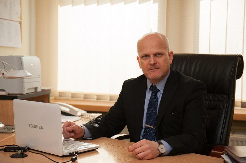 Robert Błaszczyk (50 l.), prezes MPGL