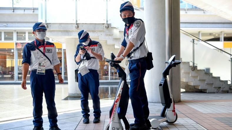 Ochroniarze w Tokio