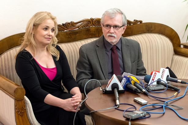 """Na konferencji prasowej, oprócz Morawskiego, głos zabrała aktorka Aldona Struzik. Zaapelowała ona do aktorów zrzeszonych w Inicjatywie Pracowniczej, by """"zastanowili się nad swoimi działaniami"""""""