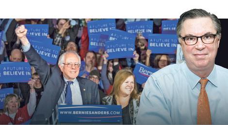 Ted Divajn je slogan SNS iz 2014. godine iskoristio za uspešnu kampanju Berni Sandersa u SAD