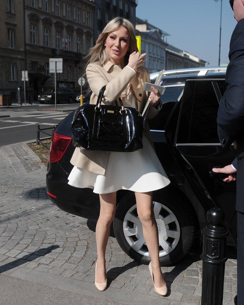 Magda Ogórek nigdy nie ukrywała tego, że moda jest jej wielką pasją.