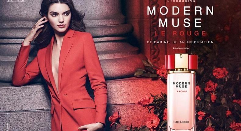 Kendall Jenner for Estee Lauder Print ad