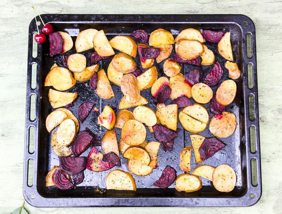 Zdrowe chipsy z warzyw
