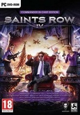 Okładka: Saints Row IV