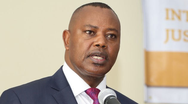 The Director of Criminal Investigations George Kinoti