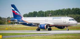 Rosjanie na lotnisku w Łodzi. Po co przyleciał Airbus z Moskwy?