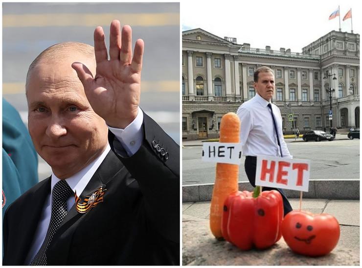 Vladimir Putin, referendum, Mimovi