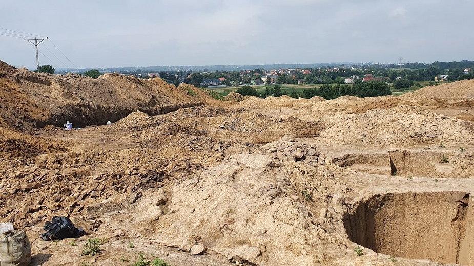 Trwają prace przy północnej obwodnicy Krakowa