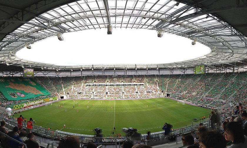 trybuny stadiou we Wrocławiu