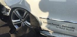 Rafał Maślak miał wypadek samochodowy!
