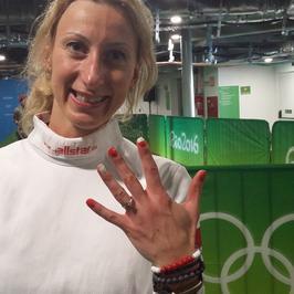 Aleksandra Socha zaręczona. Polska olimpijka pokazała pierścionek zaręczynowy