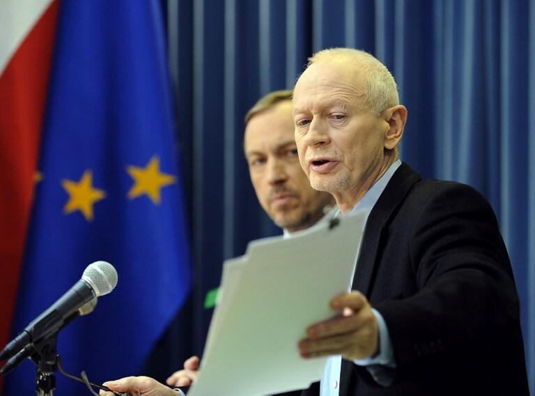 Michał Boni, fot. AFP