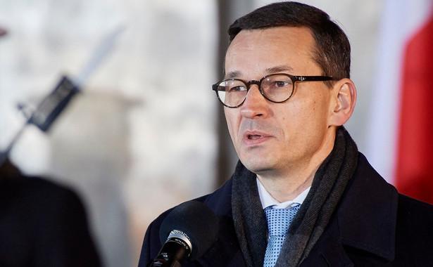 """""""Bardzo dobra współpraca z prezydentem Andrzejem Dudą nie tylko leży mi na sercu, ale jest warunkiem sprawnego zarządzania i rządzenia państwem"""" - zapowiedział Morawiecki."""