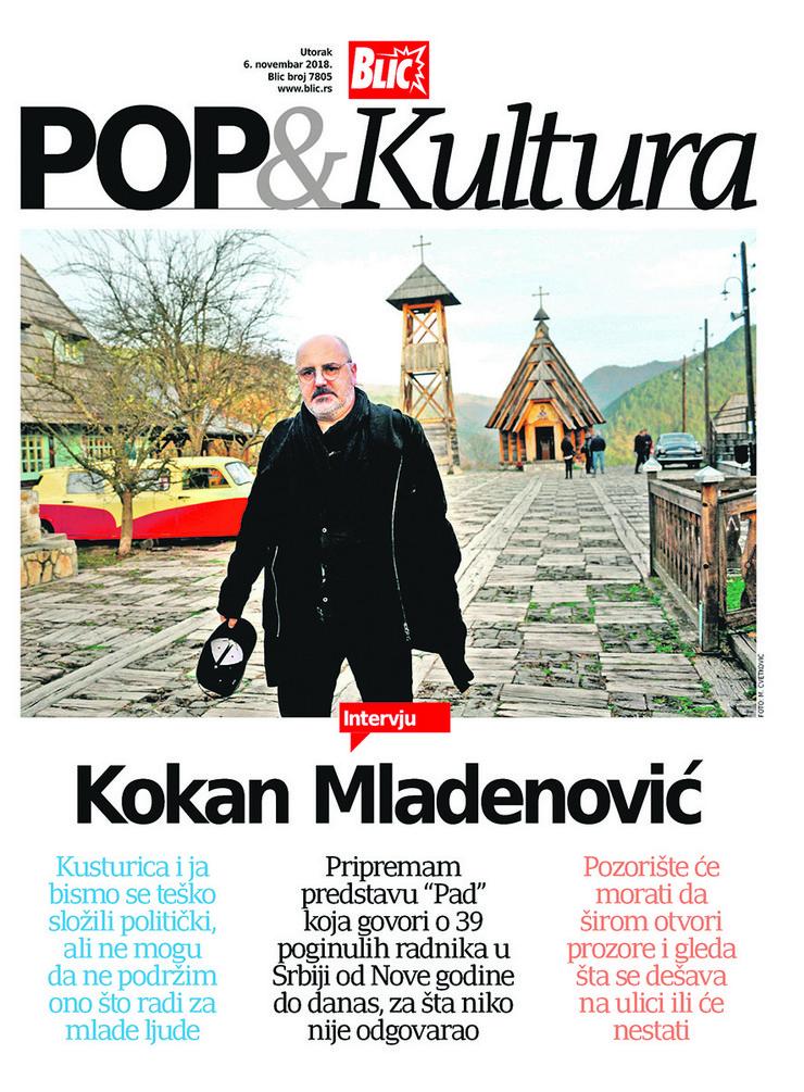POP Kultura cover Kokan Mladenović