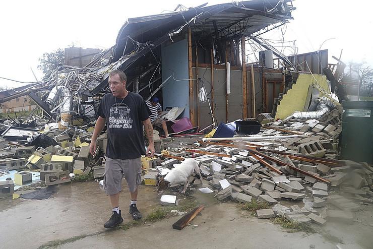 uragan majkl nove fotke