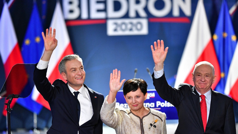 Bożena Szubińska, Robert Biedroń, Janusz Zemke