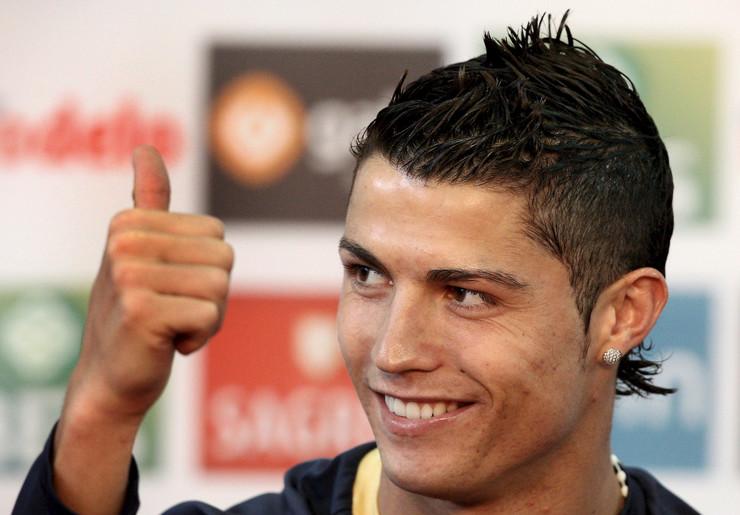 Ronaldo frizure