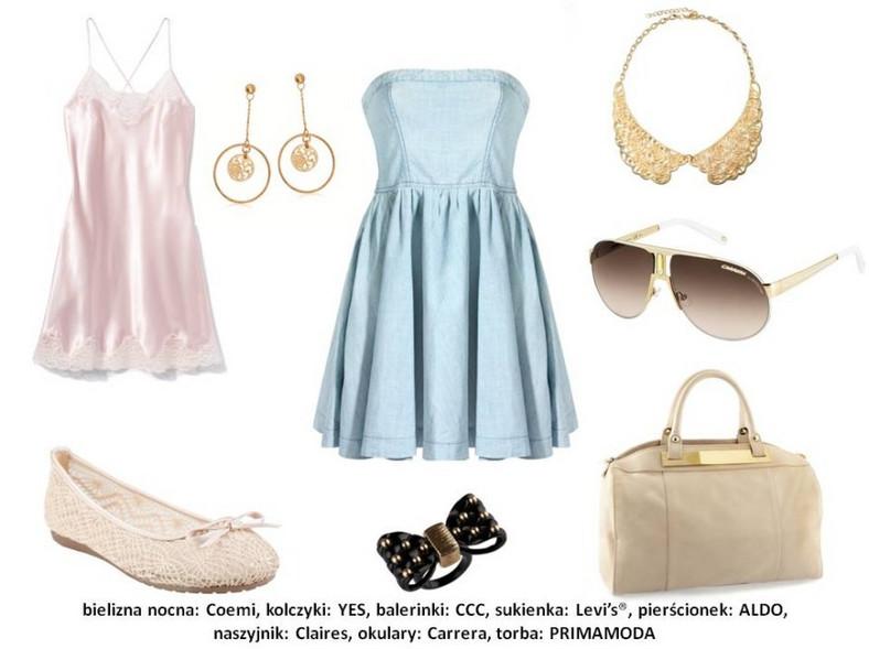 Modne koronki - stylizacje na wiosnę 2013