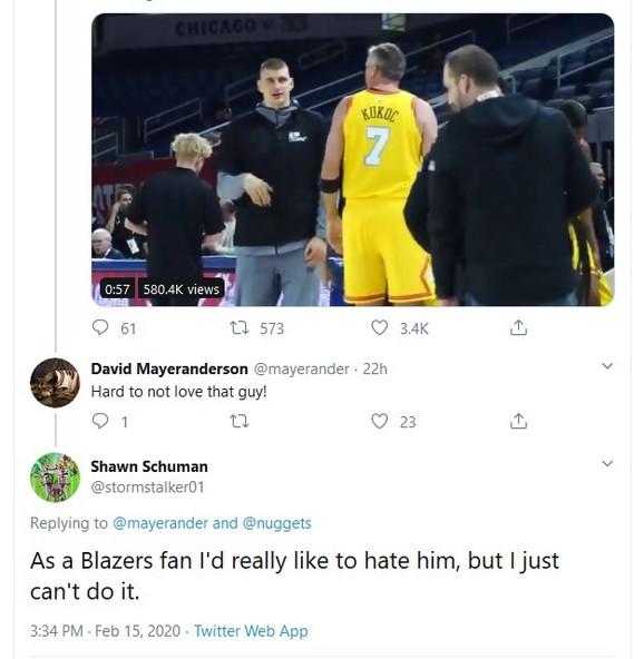 Komentar navijača Portlanda na Jokića u ulozi trenera