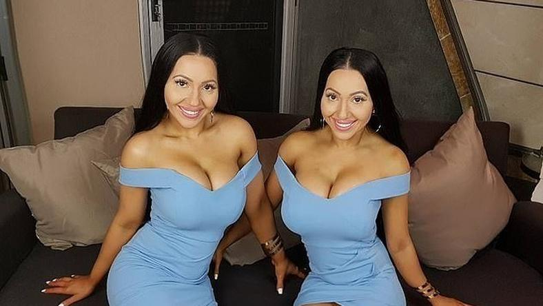 Twins who share one boyfriend undergo reverse surgery to look natural
