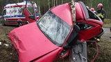 Horror na drodze! To cud, że kierowca przeżył!
