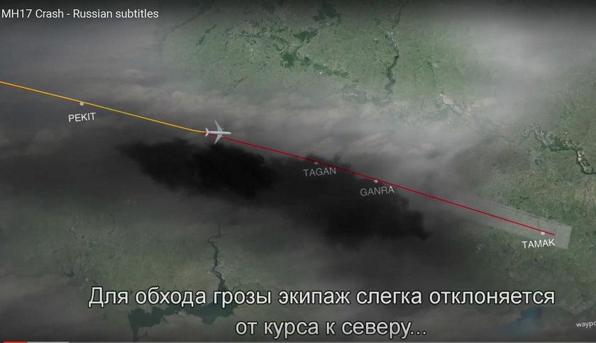 Rosyjska rakieta zastrzeliła Boeinga 777