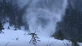 Wideo przedstawiające tzw. snownado hitem internetu