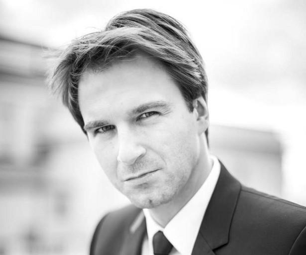 Adwokat Piotr Kaszewiak, rzecznik prasowy Okręgowej Rady Adwokackiej w Łodzi.