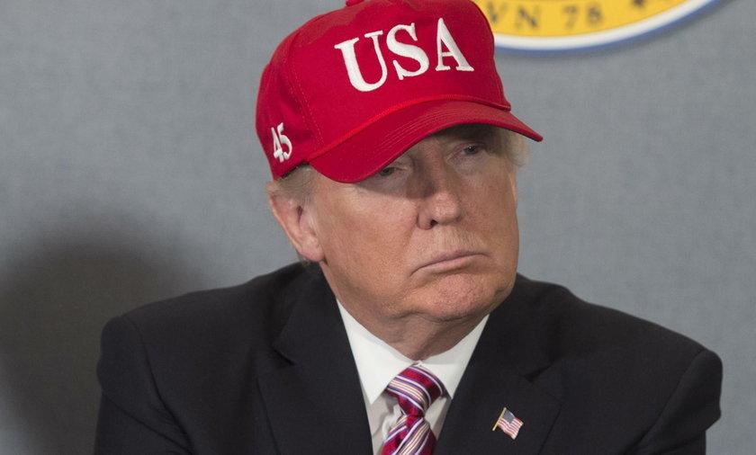Spotkanie Trump-Merkel. Prezydent USA nie chciał podać ręki?