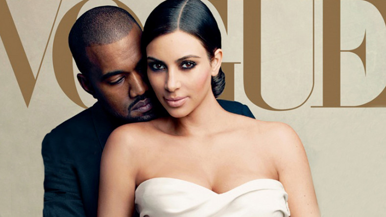 "Kim Kardashian i Kanye West na okładce ""Vogue'a"""