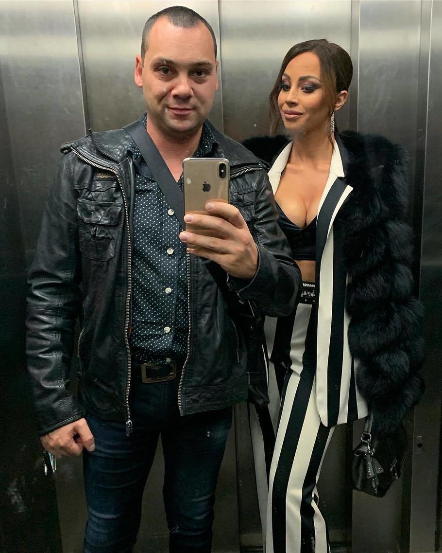 Darko Filipović sa suprugom
