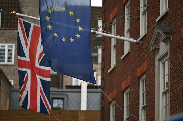 Velika Britanija, EU, zastava