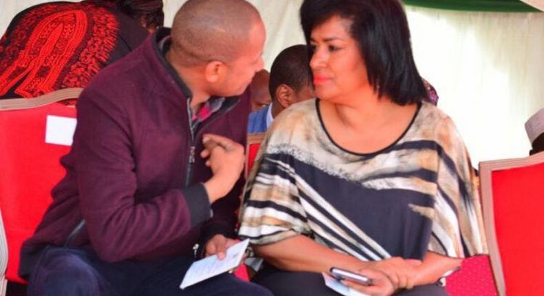 Esther Passaris in nasty exchange with Babu Owino, throws his wife into the mix